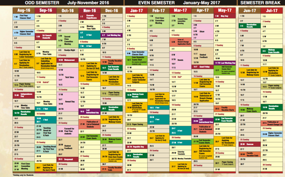 Mit Reacts To Academic Calendar The Vikhyath Times