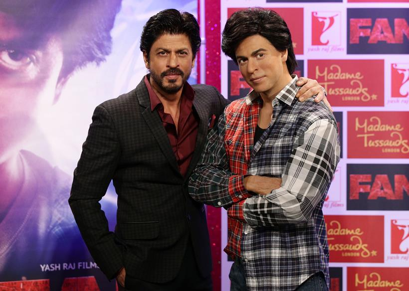 Britain Shah Rukh Khan Wax Figure